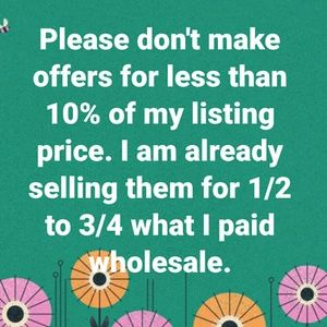 Other - NO LOWBALL OFFERS ACCEPTED